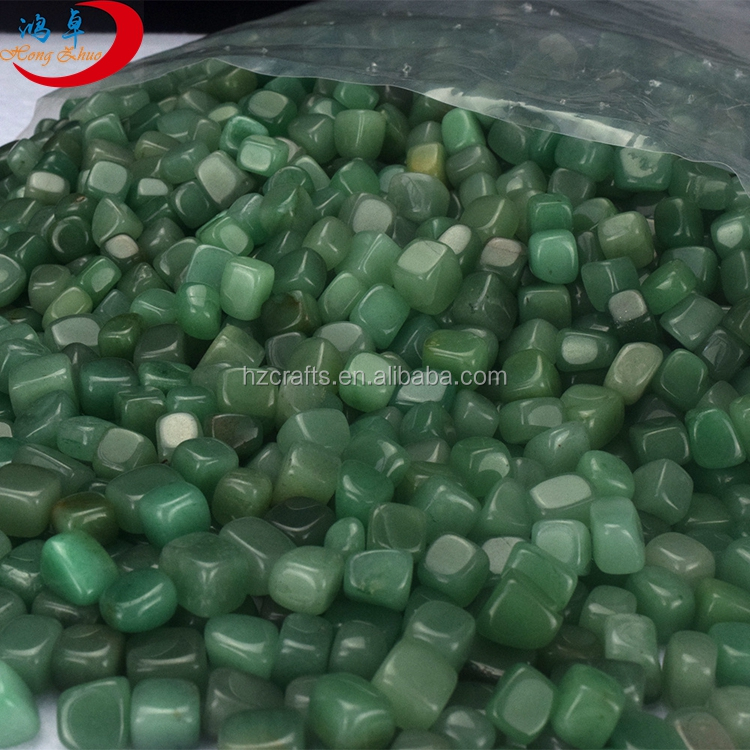 Energy Balance Green Aventurine Tumbled Natural Gemstones, Tumbled Stones Polished