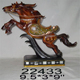 Customized professional painted resin animal horse figurines 22433