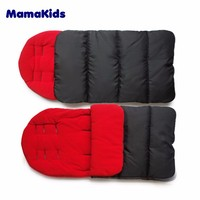 Customized baby pushchair foot muff 100% cotton