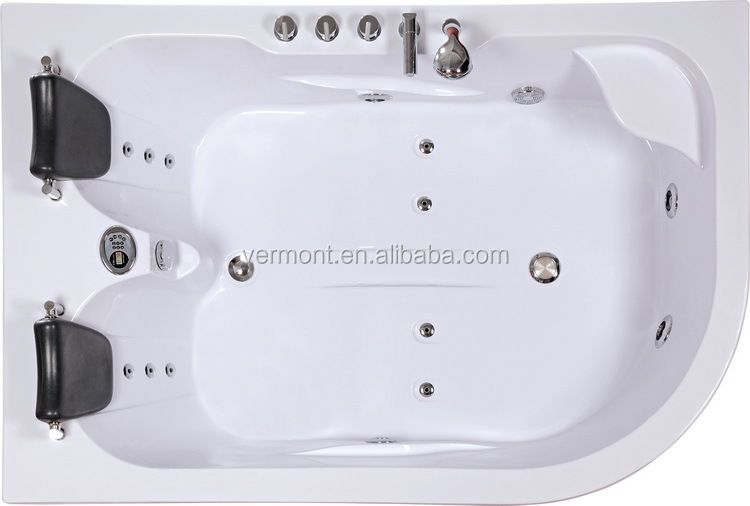 Two 2 Person Indoor Whirlpool Hot Tub Jetted Massage Bathtub ...