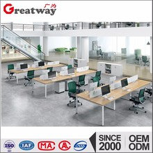 Modern cubicle customized size material hong kong office furniture