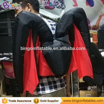 halloween costumes inflatable bat wing type inflatable butterfly wing for sale