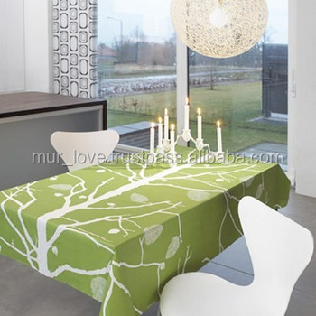 India Made Linen Table Cloth Home Textiles Furnishings