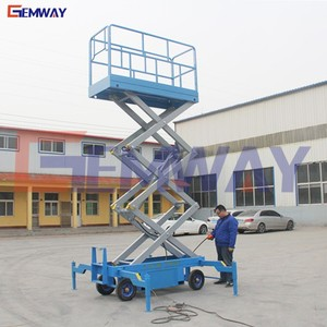 Hydraulic mobile lifting equipment work platform