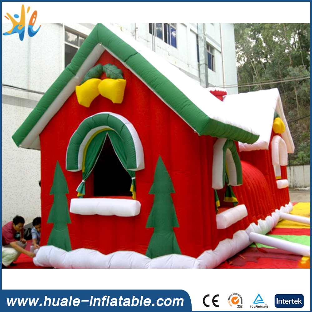 Pretty Outdoor Inflatable Christmas House