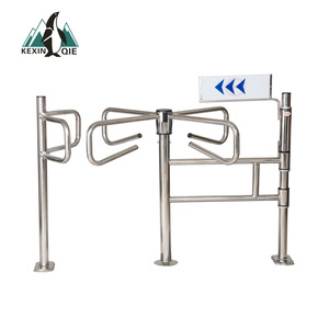 Supermarket Entrance and Exit Access Control Turnstile Gate