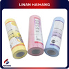 China high quality impregnated oil wipes nonwoven cleaning wipe in roll