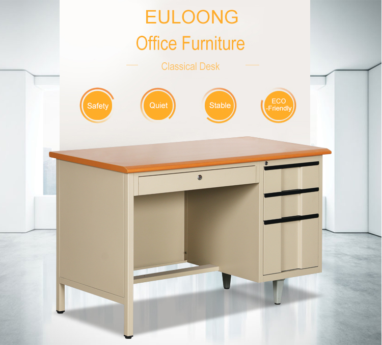 China Top 10 Metal Furniture Brands Office Desk For Single People