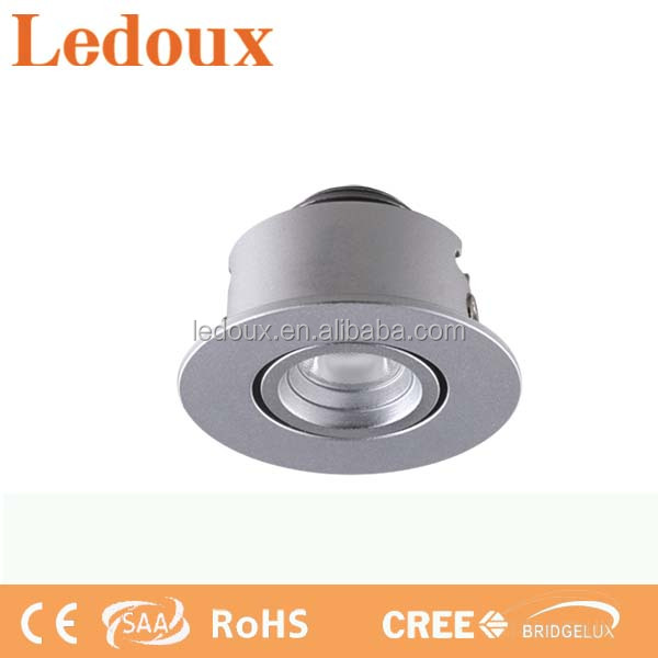 Indoor down light 1 light 1W with adjustable beam angle