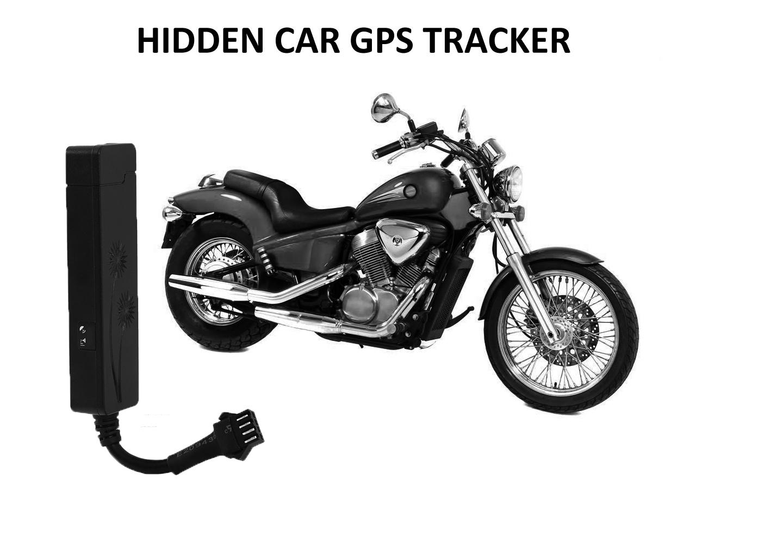 GPS Tracker GSM | GPRS | SMS Auto-Motorfiets met alarm stoorzender