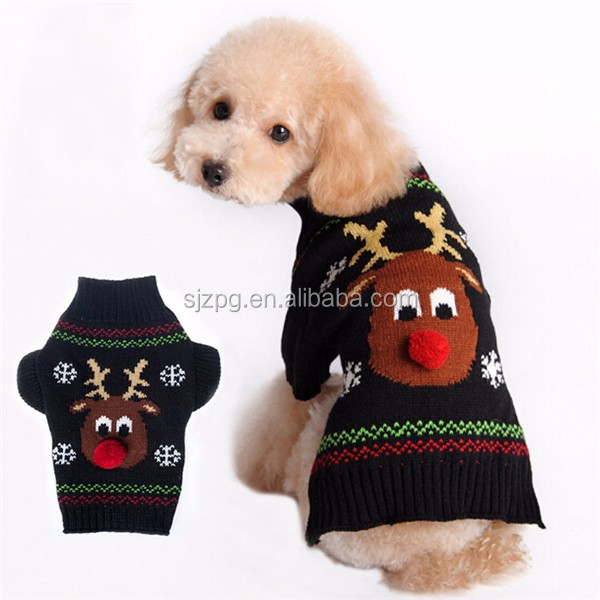 294e807fda0b Wholesale Funny Winter Christmas Dog Clothes - Buy Sweater Dog ...