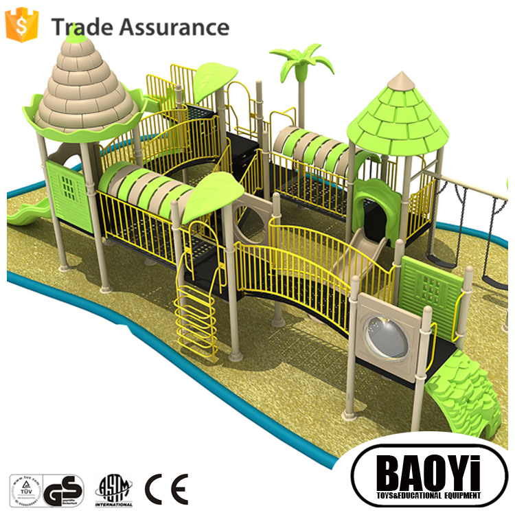 Baoyi Children Outdoor Playground Slide Equipment