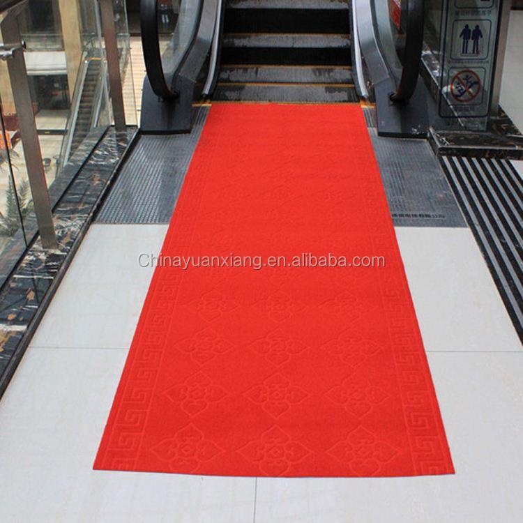 a prueba de agua de la f u00e1brica de china rojo alfombra