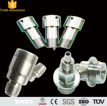 CNC machining high performance compression stainless steel brass tube/hose pipe fittings for sale