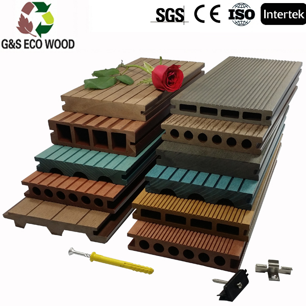 Cheap price wpc floor for balcony waterproof rosewood composite timber