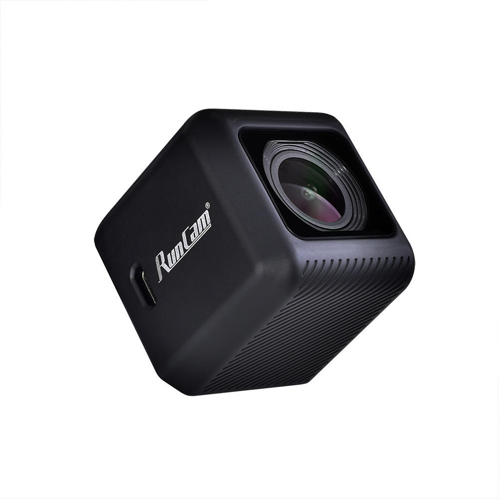 Runcam5 12mp 56g Smallest 4k Hd Recording 145 Degree Ntsc/pal 16:9/4:3 Switchable Fpv  Action Camera For RC Racing Drone