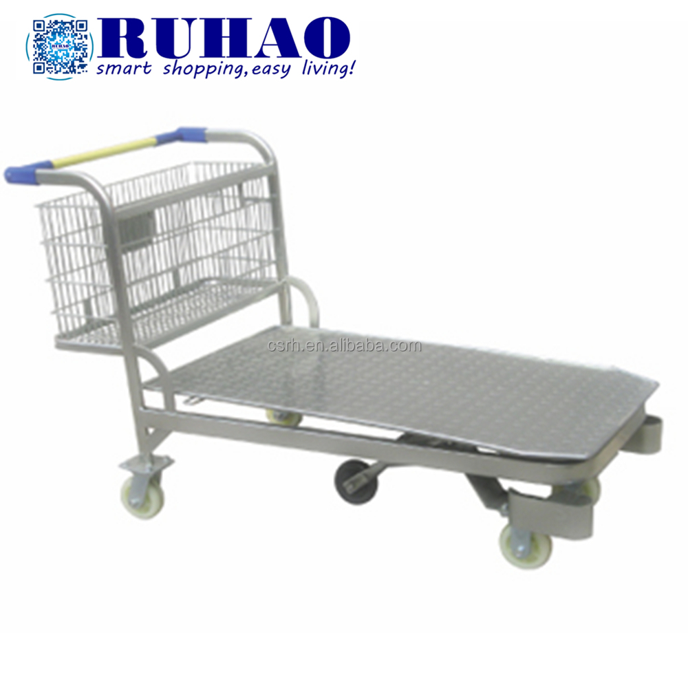 Heavy Duty Warehouse Cargo Cart 500kg