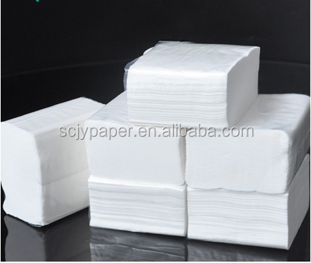 Bamboo pulp kinds of napkin foldings sanitary paper