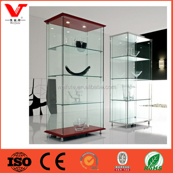 High Tall Wall Mounted Wine Gl Display Cabinet Showcase Designs