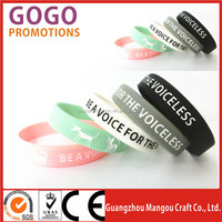 Custom Logo Brand Silicone Wristband For Promotional Gift, Best quality latest carved color filled silicone wristband