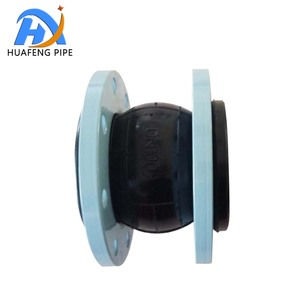 Pipe Fittings Flange Type 4 inch Flexible Rubber Expansion Joint