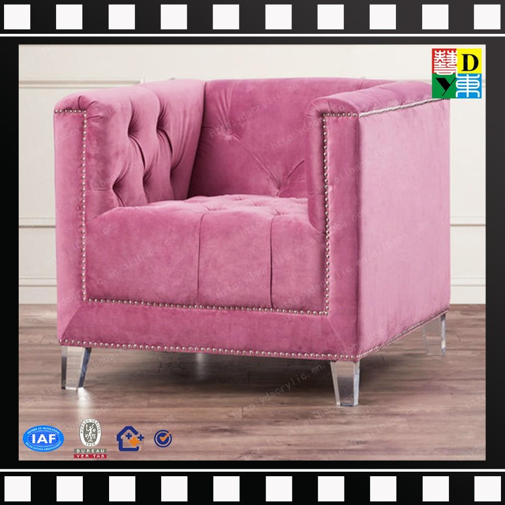 Clear Crystal Acrylic Furniture Legs New Designs Chair Sofa