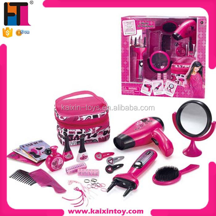 Christmas Toys Product : Battery operated girls hair beauty set toys for