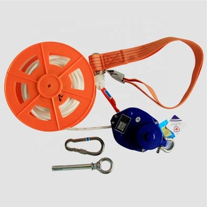 High building fire safety escape rescue wire rope lifesaving descent control device