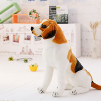 Creative lifelike new cute big dog plush toy stuffed animals for children