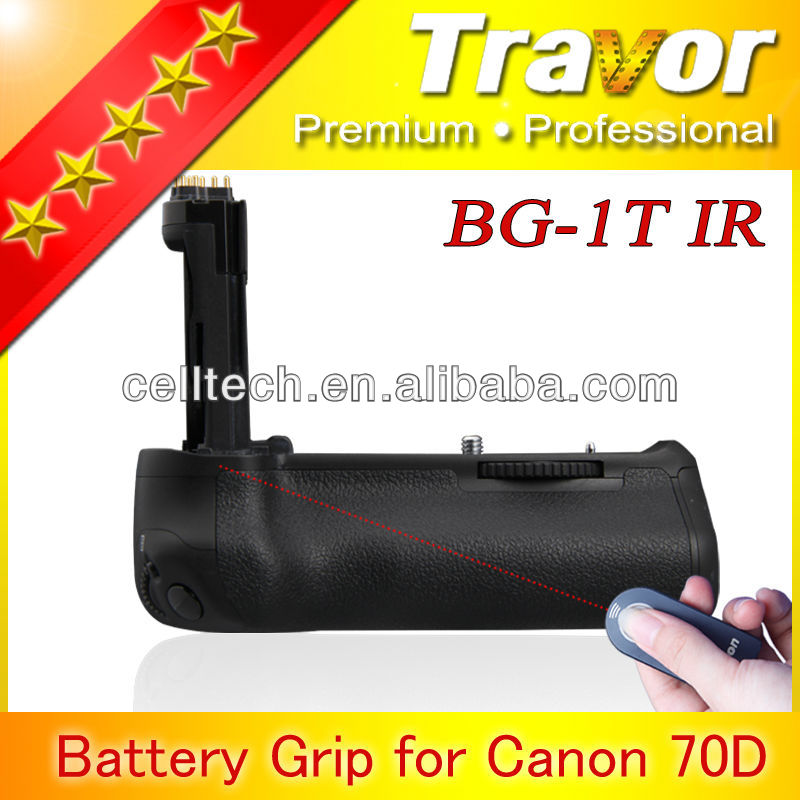 dslr camera battery grip for cannon 70D