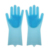 Dishwashing rubber Silicone Cleaning Brush Scrubber Gloves