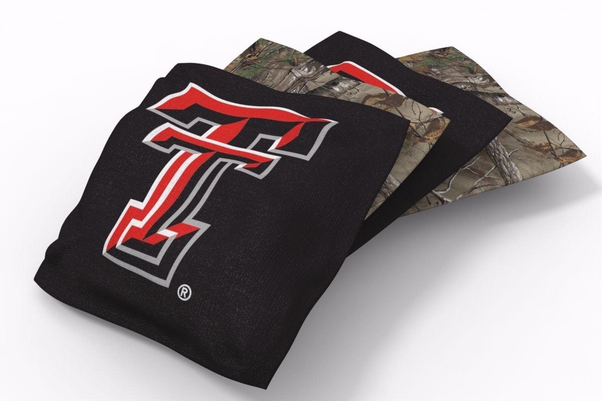 Texas A&M Aggies RealTree Camo Bean Bags-4pk (A)