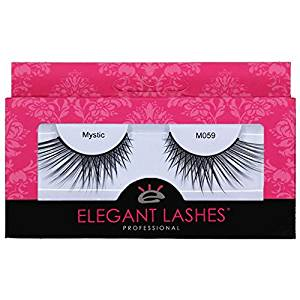 Elegant Lashes M059 Mystic | Premium Professional-Quality Cruelty-Free Faux Mink False Eyelashes