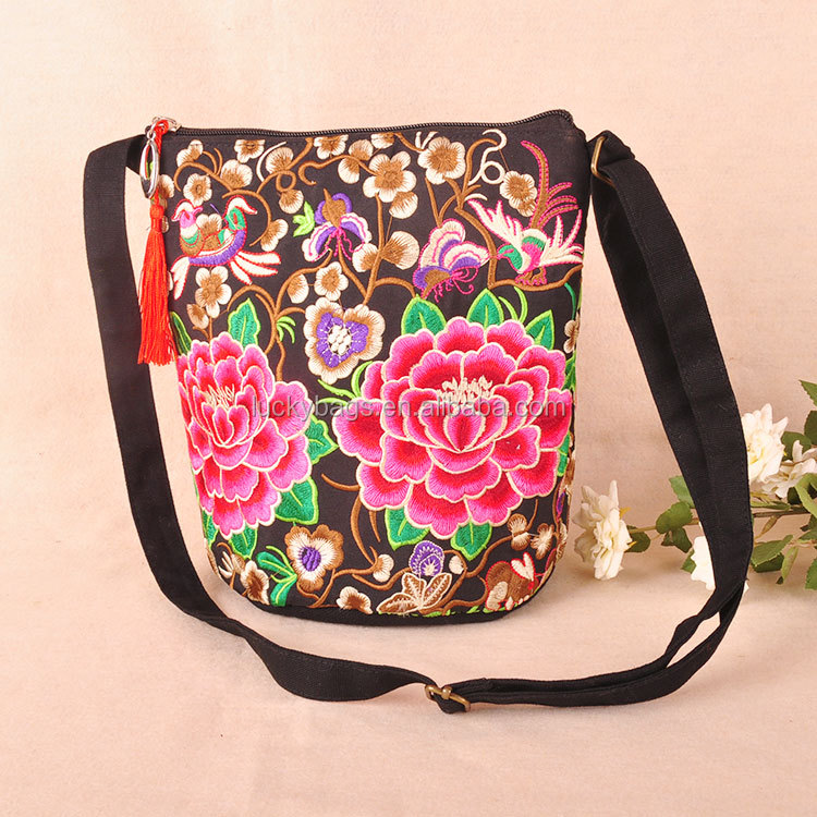 New design Ethnic Embroidered HMONG Hill Tribe Bag