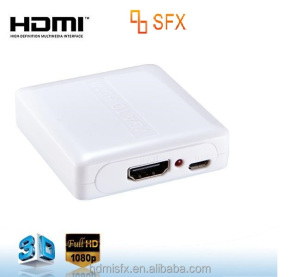 VGA to HDMI Video and Audio Video Converter Adapter for HDTVs, monitors, displays,Laptop Desktop Computer