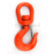 G80 322A Heavy Lifting Swivel Hook with Latch
