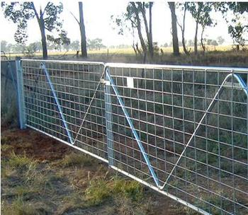 sheet metal fence. Modren Fence 4foot12foot Galvanized Sheet Farm Gate Decorative Metal Fence Panels   Factory  On V