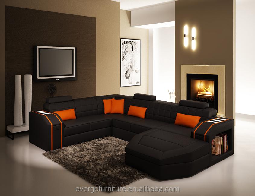 Italy Water Buffalo Leather Sofa