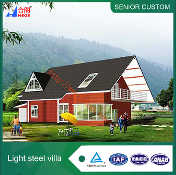 Two Storey Fabricated Building House Plans With Floor Plan,Light Steel  Villa - Buy Hotel Building Plans,Factory Building Plans,2d Floor Plans  Product