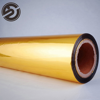 Professionelle herstellung vertrieb bopp gold film lldpe stretch film schokolade verpackung material