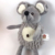 Best price of plush sitting grey mouse with sound