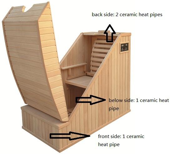 2016 hei er verkauf 1 menschen mini halbk rper sauna buy. Black Bedroom Furniture Sets. Home Design Ideas