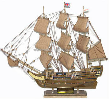 Historical Tall Ship ModelquotFregatte Berlinquot Sailboat Modelsailing Boat