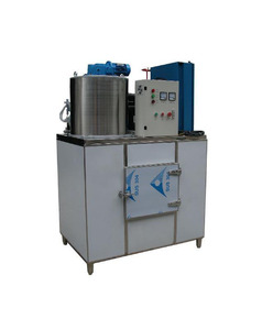 China 500KG Small Commercial Air-cooling Flake Ice Making Machine