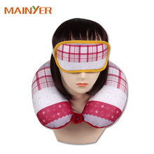 Personalized U Shape Travel Kit Eyemask Neck Pillow