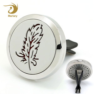 Auto Aromatherapy Dispel Peculiar Smell Locket Aroma Diffuser For Car