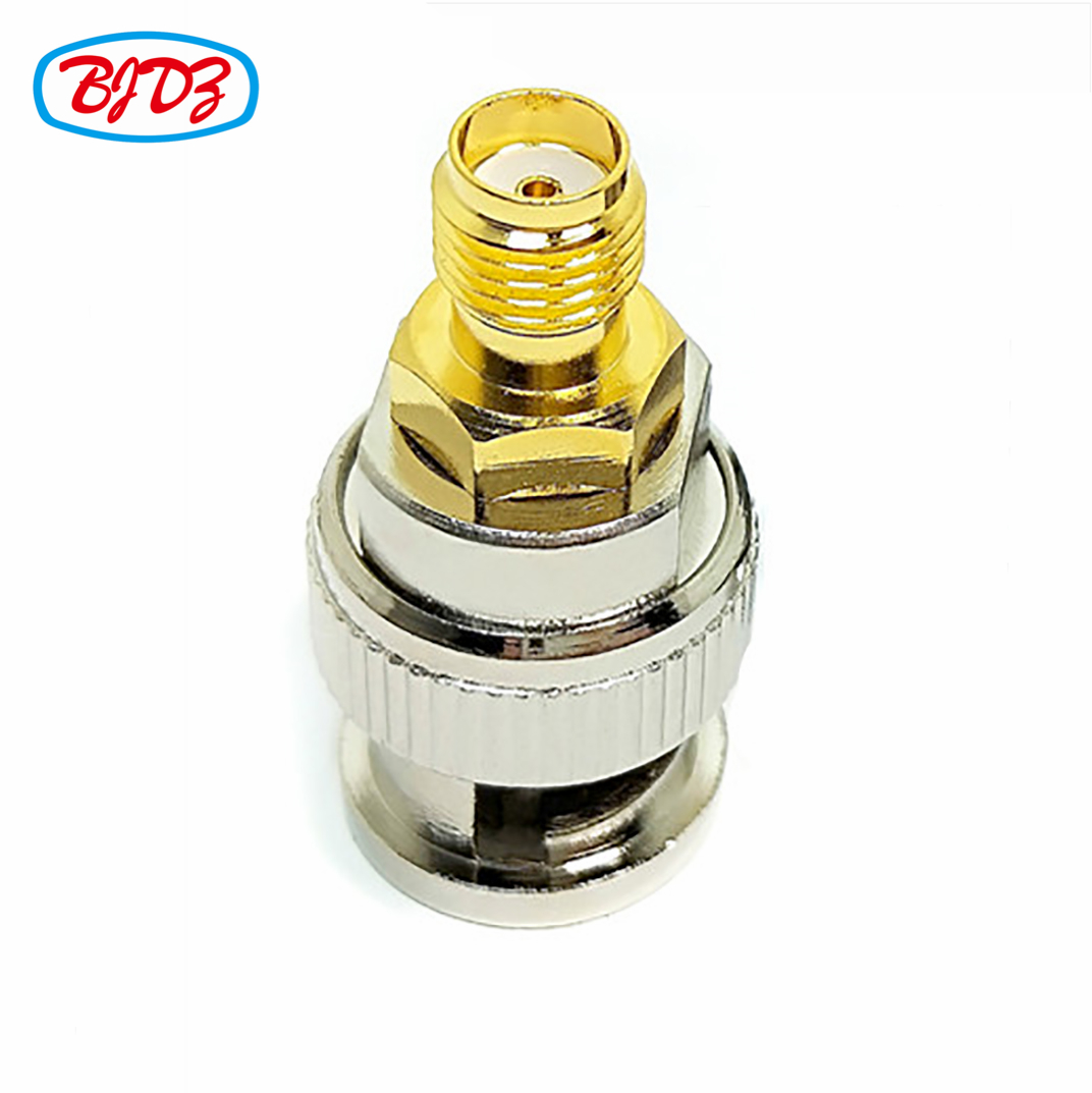 SMA-F to BNC-M RF Coaxial cable connector SMA female to BNC male adapter
