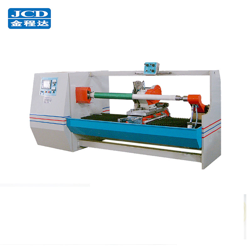 Automatische adhesive BOPP tape/verpakking tape/foam tape making machine en snijmachine