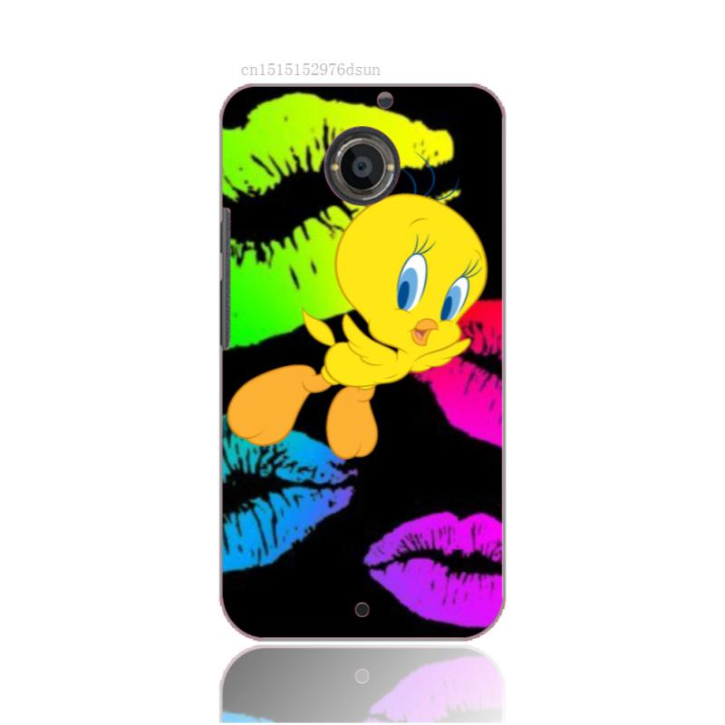 DIY 3D Mobile Phone Case For Motorola M9&X3&X2&G2&G Cover With Tweety Bird Design Luxury Painted Hard Free Shipping
