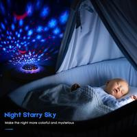 Baby Sleep White Noise Machine with Led Light Starry Projection Pink Noise Latest Hot Product Shenzhen Jedi Factory